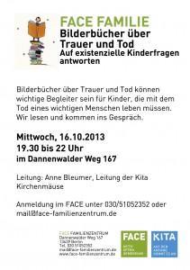 FACE Bilderbuch Plakat